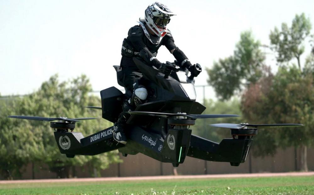 moto volante polizia