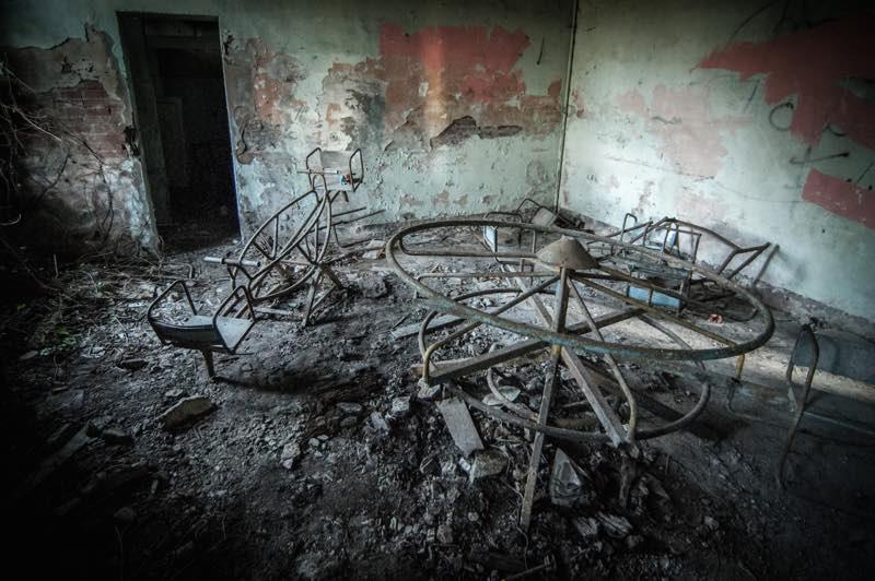 luoghi abbandonati spaventosi