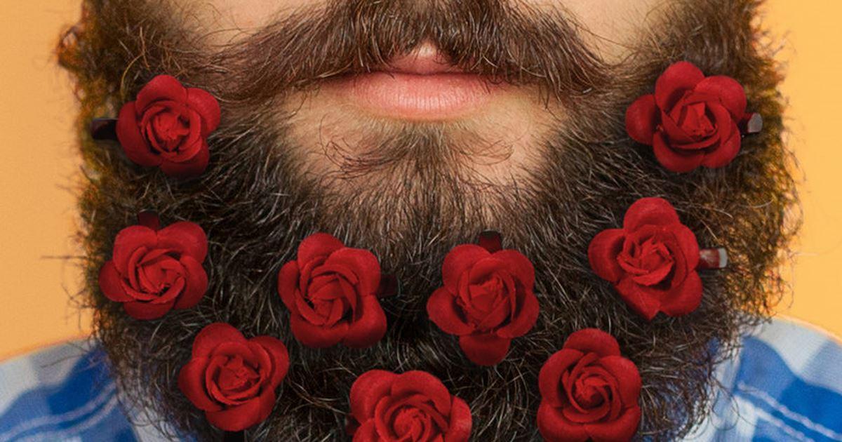 San Valentino fiori barba