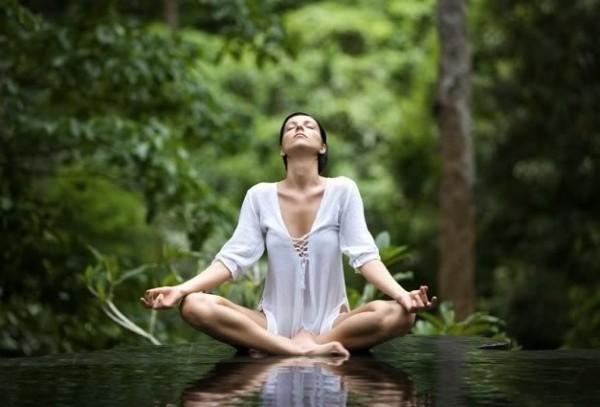Perfetta respirazione equilibrio
