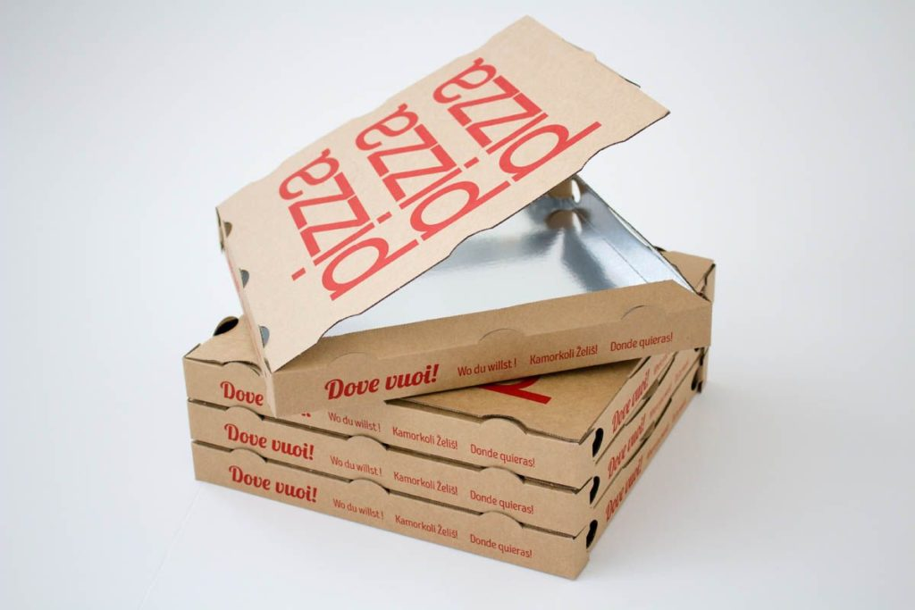 Allarme cartoni pizza