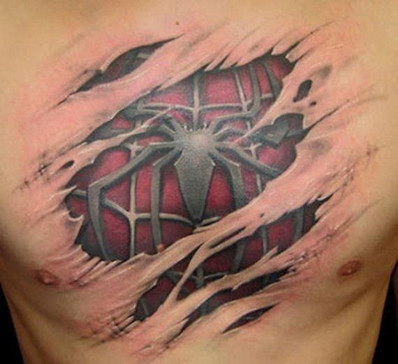 tatuaggi 3d dove farli