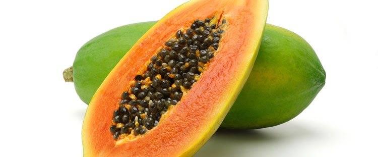 Papaya proprietà digestive