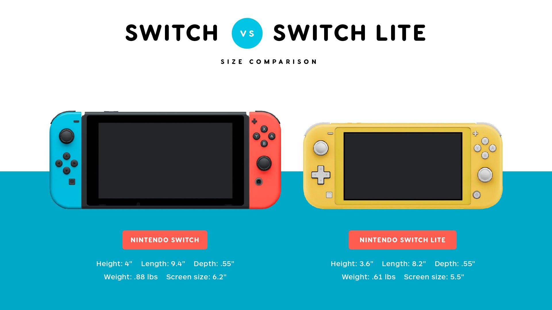 Switch Lite caratteristiche