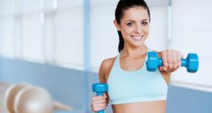 Allenamento circuito fitness palestra