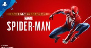 Spiderman PS4 GOTY