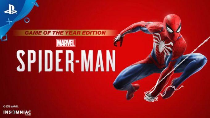 Spiderman PS4 GOTY