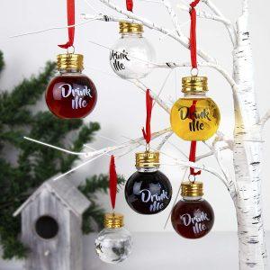 Palle natalizie alcoliche