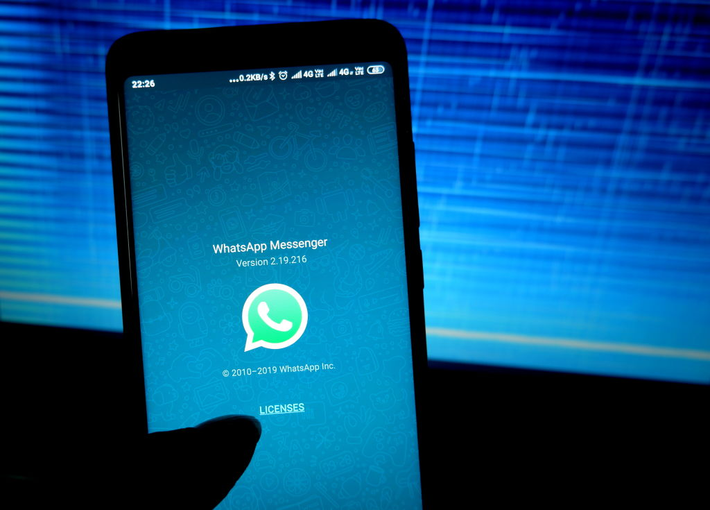 Whatsapp modalità notturna