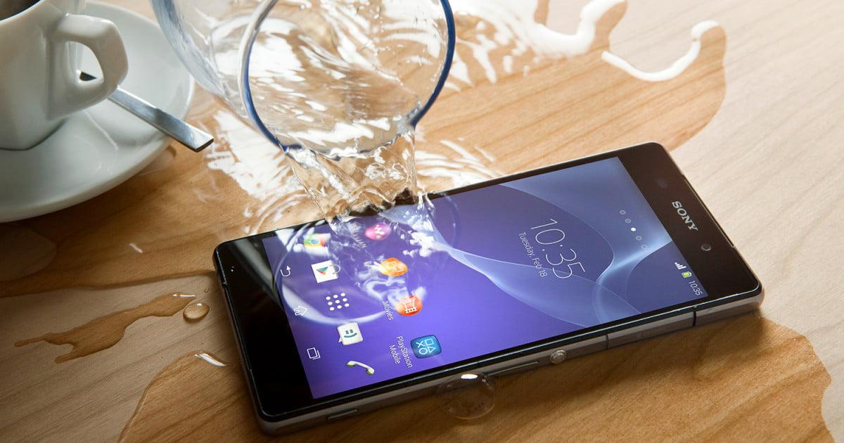 riparare smartphone bagnato