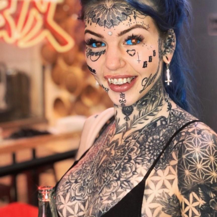 tatuaggio bulbo oculare