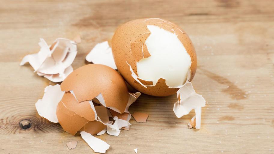 Mangiare gusci uovo benefici