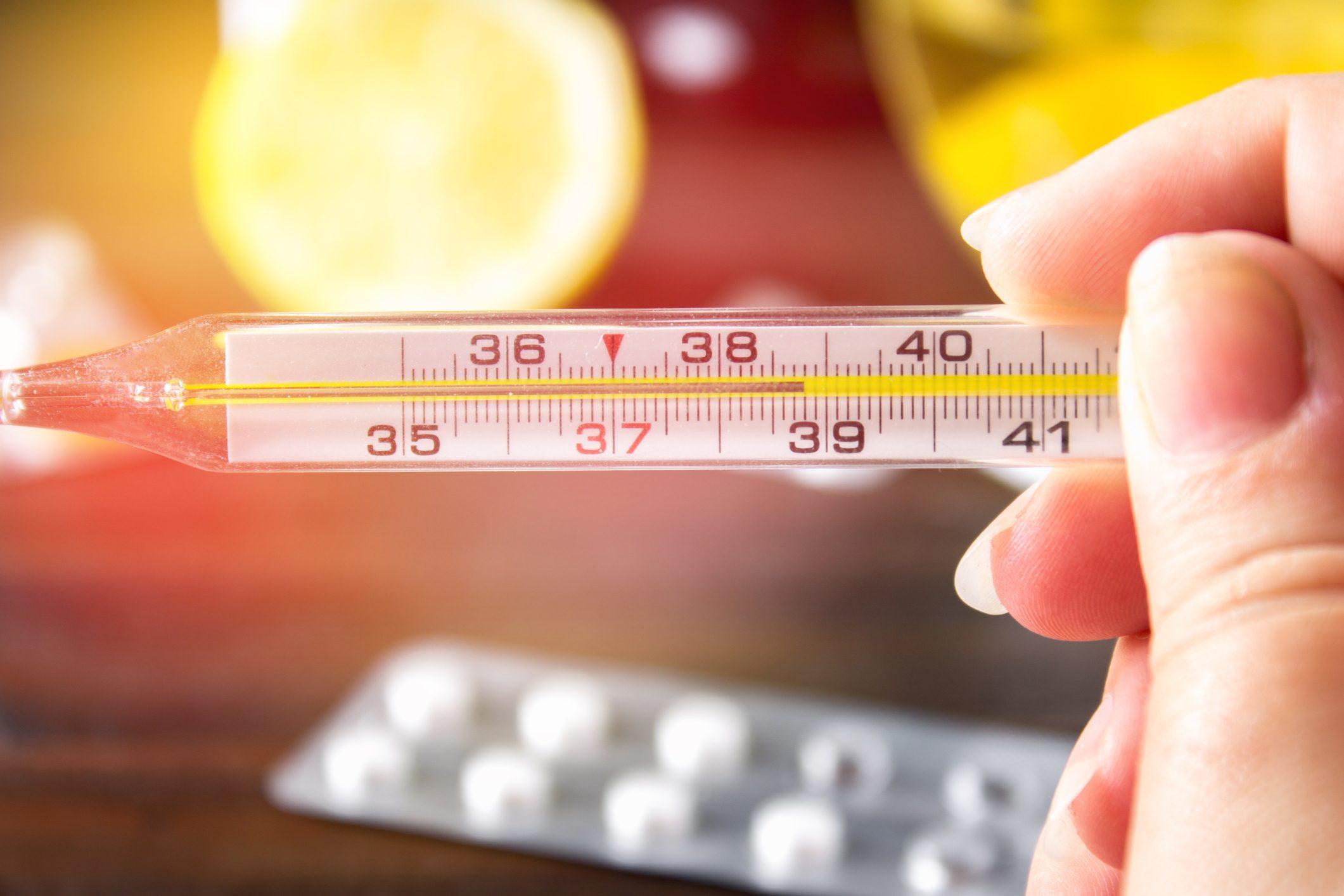 Diminuisce temperatura corporea