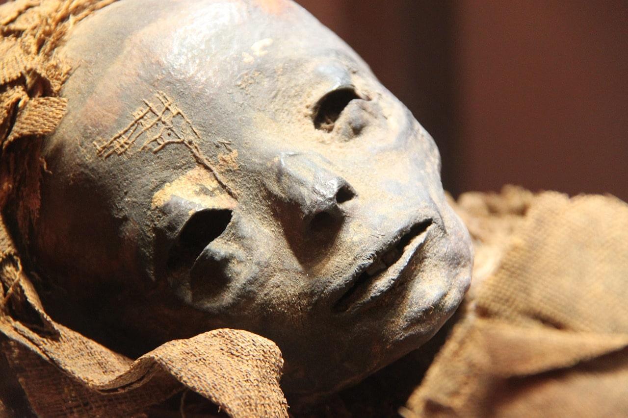 mummia parlante