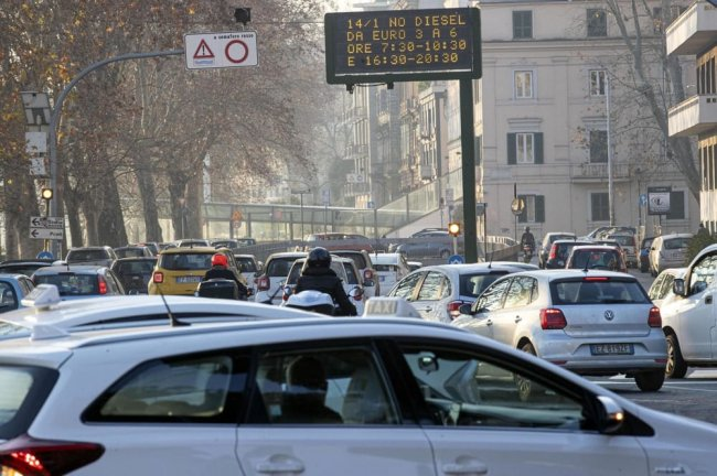 blocco diesel città 2020