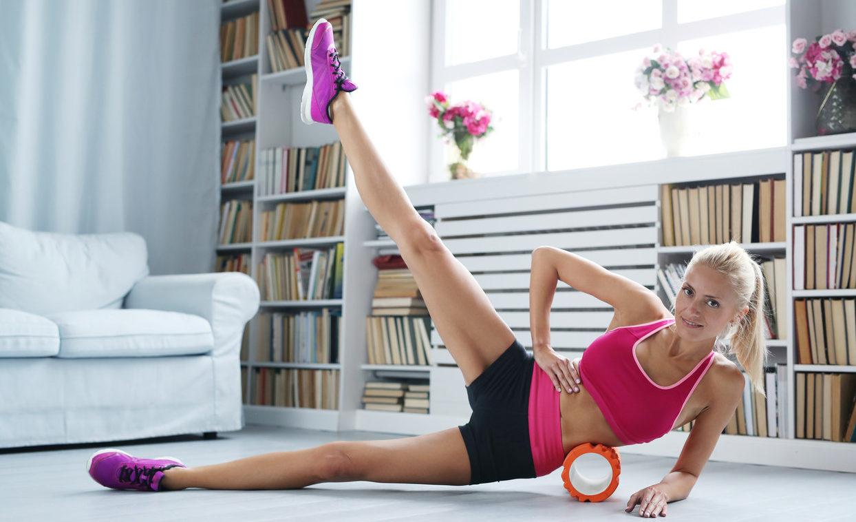rullo massaggio esercizi