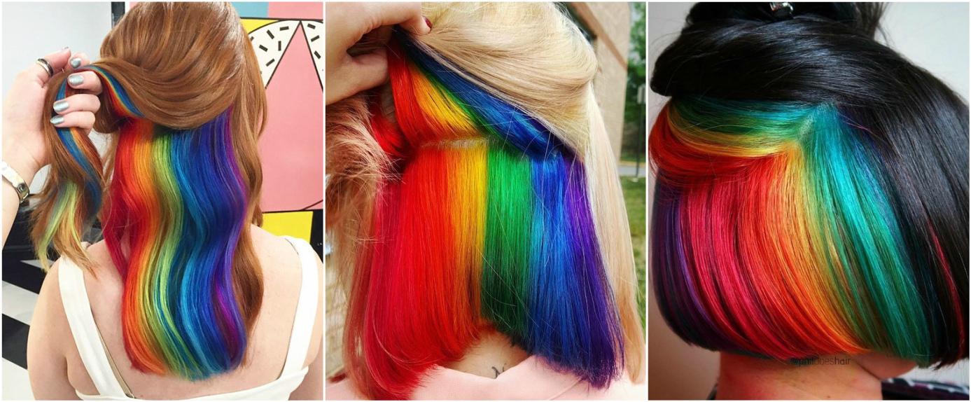 Peli ascelle arcobaleno