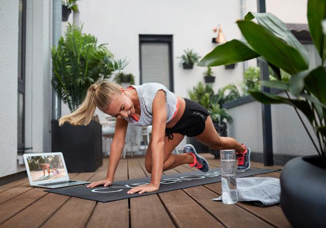 lezioni fitness google meet
