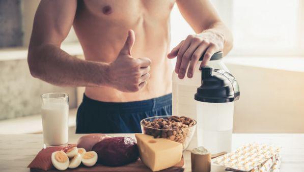 alimentazione muscoli scolpiti