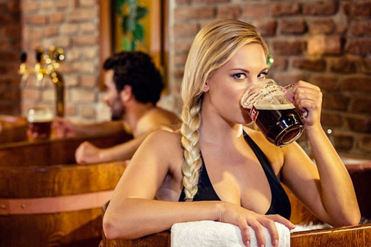 Bagno birra terme europee