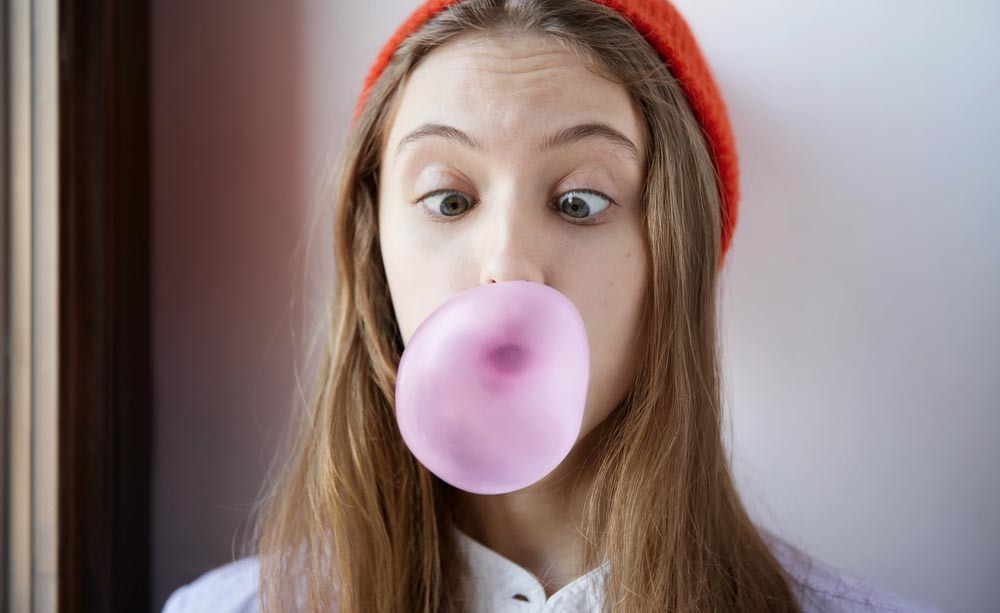 Benefici chewing gum