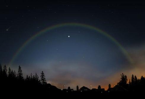Arcobaleno curiosità fenomeno