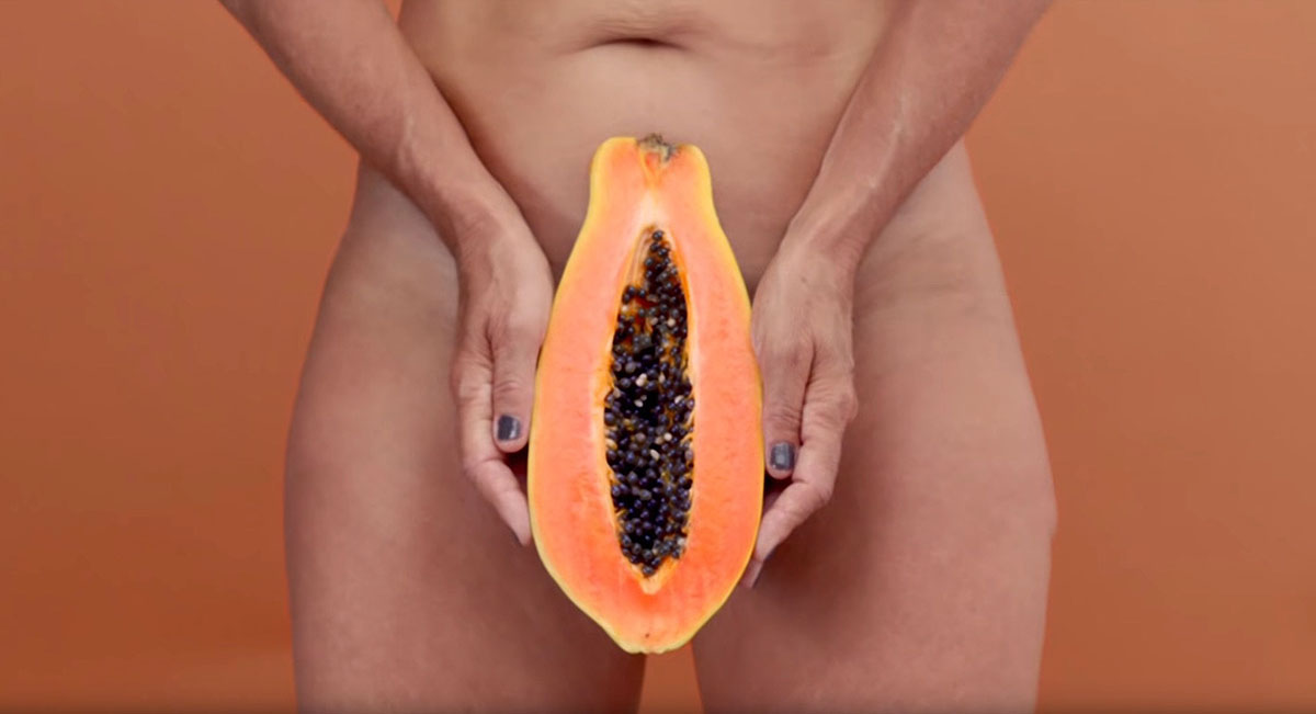 Papaya frutto vitalità