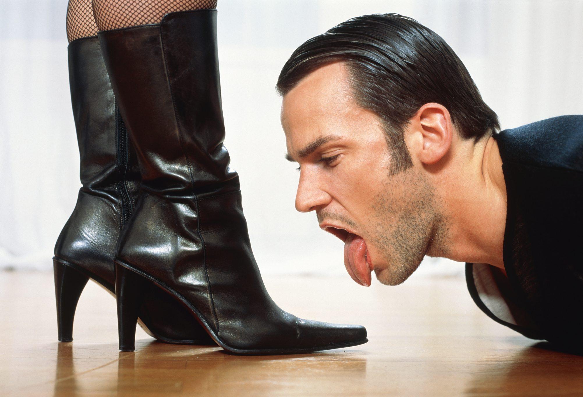 Rapporto piedi feticismo
