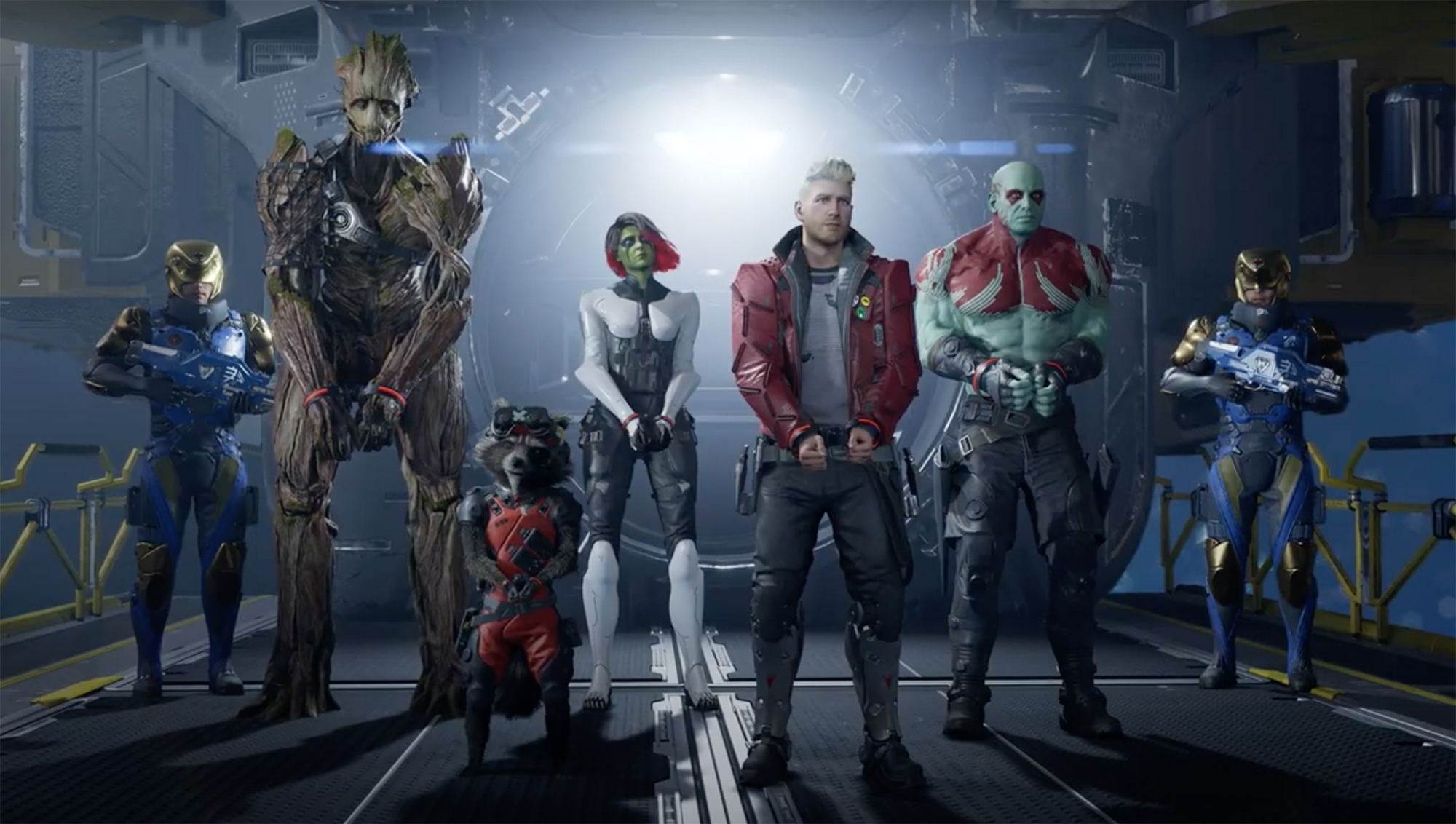 guardians of the galaxy gioco